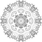Элегантный орнамент вектора в классическом стиле Стоковые Изображения RF