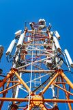 Электрическая высоковольтная башня Стоковые Изображения RF