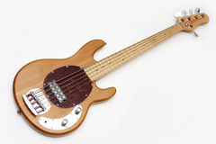 электрическая гитара деревянная Стоковое Изображение RF