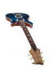 электрическая гитара изолировала Стоковые Изображения RF