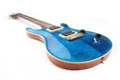 электрическая гитара изолировала Стоковое фото RF