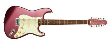 электрическая гитара шнурует 12 Стоковое Изображение RF