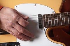 электрическая гитара Стоковое Фото