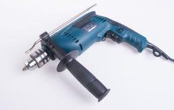 Электрическая дрель электрическая дрель на предпосылке Стоковые Фотографии RF