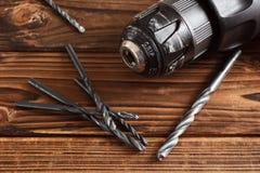 Электрическая дрель Стоковая Фотография RF