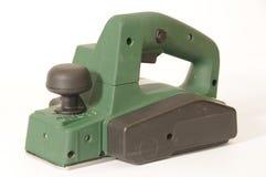 электрическая зеленая плоскость Стоковое фото RF