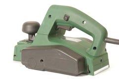 электрическая зеленая плоскость Стоковая Фотография RF