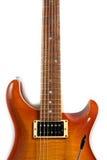электрическая изолированная гитара Стоковое Изображение RF