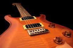 электрическая изолированная гитара Стоковое Изображение