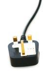 Электрическая изолированная штепсельная вилка стоковые изображения rf