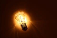 электрическая лампа принципиальной схемы Стоковое Изображение RF