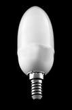 Электрическая лампочка низкой энергии Стоковая Фотография