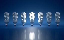 Электрическая лампочка Стоковые Фотографии RF