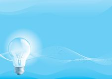 Электрическая лампочка Стоковые Изображения