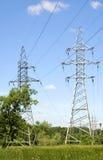 электрическая линия передача Стоковое фото RF