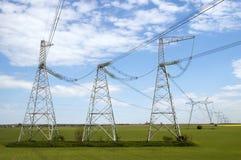 электрическая линия передача Стоковые Изображения