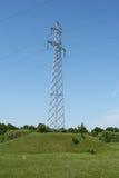 электрическая линия сила ландшафта Стоковые Изображения RF