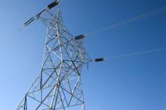 электрическая линия сила Стоковые Изображения