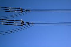 электрическая линия Стоковые Фото