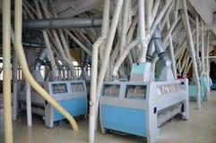 Электрическая мельница для продукции высокосортной муки стоковая фотография