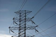 Электрическая опора решетки Стоковое Изображение RF