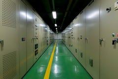Электрическая панель переключателя Switchgear комнаты Стоковое Изображение