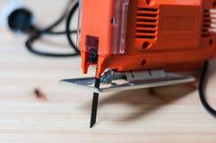 Электрическая пила джига Стоковое Изображение RF