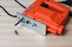 Электрическая пила джига Стоковое фото RF