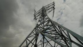 Электрическая поддержка высоковольтных силовых кабелей Энергетическая промышленность видеоматериал