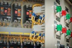 электрическая подстанция Стоковое Фото