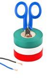 электрическая работа Стоковое Изображение