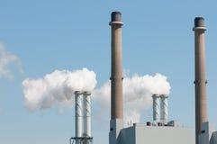 электрическая сила завода Стоковая Фотография
