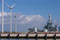 электрическая сила завода Стоковые Фотографии RF