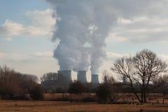 электрическая станция природы Стоковые Фотографии RF