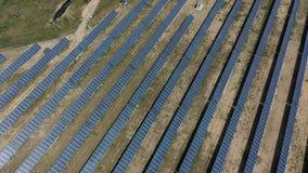 Электрическая станция солнечной энергии для продукции  сток-видео