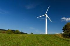 Электрическая станция энергии ветра Стоковое Изображение RF