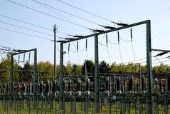 Электрическая станция стоковая фотография rf