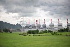электрическая станция Стоковые Изображения