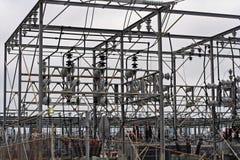 электрическая станция Стоковое Изображение