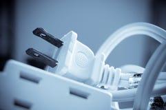 электрическая штепсельная вилка выхода Стоковые Фото