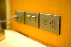 электрическая штепсельная вилка технология для электропитания в домашней пользе 2 Стоковое Изображение RF