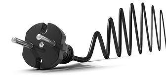 электрическая штепсельная вилка бесплатная иллюстрация