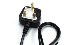 электрическая штепсельная вилка Стоковое фото RF
