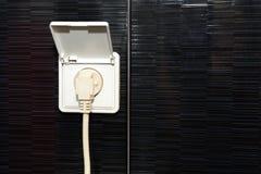 Электрическая штепсельная вилка Стоковые Изображения
