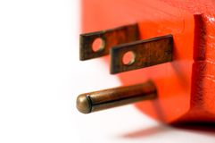 электрическая штепсельная вилка стоковое фото