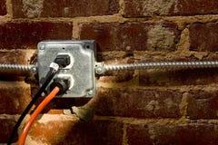 электрическая штепсельная вилка Стоковая Фотография