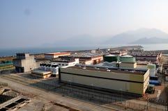 электрическая ядерная сила завода части стоковые изображения