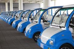 Электрические автомобили Стоковое Изображение