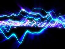 Электрические волны Стоковые Изображения RF