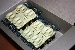 Электрические выходы Стоковое Изображение RF